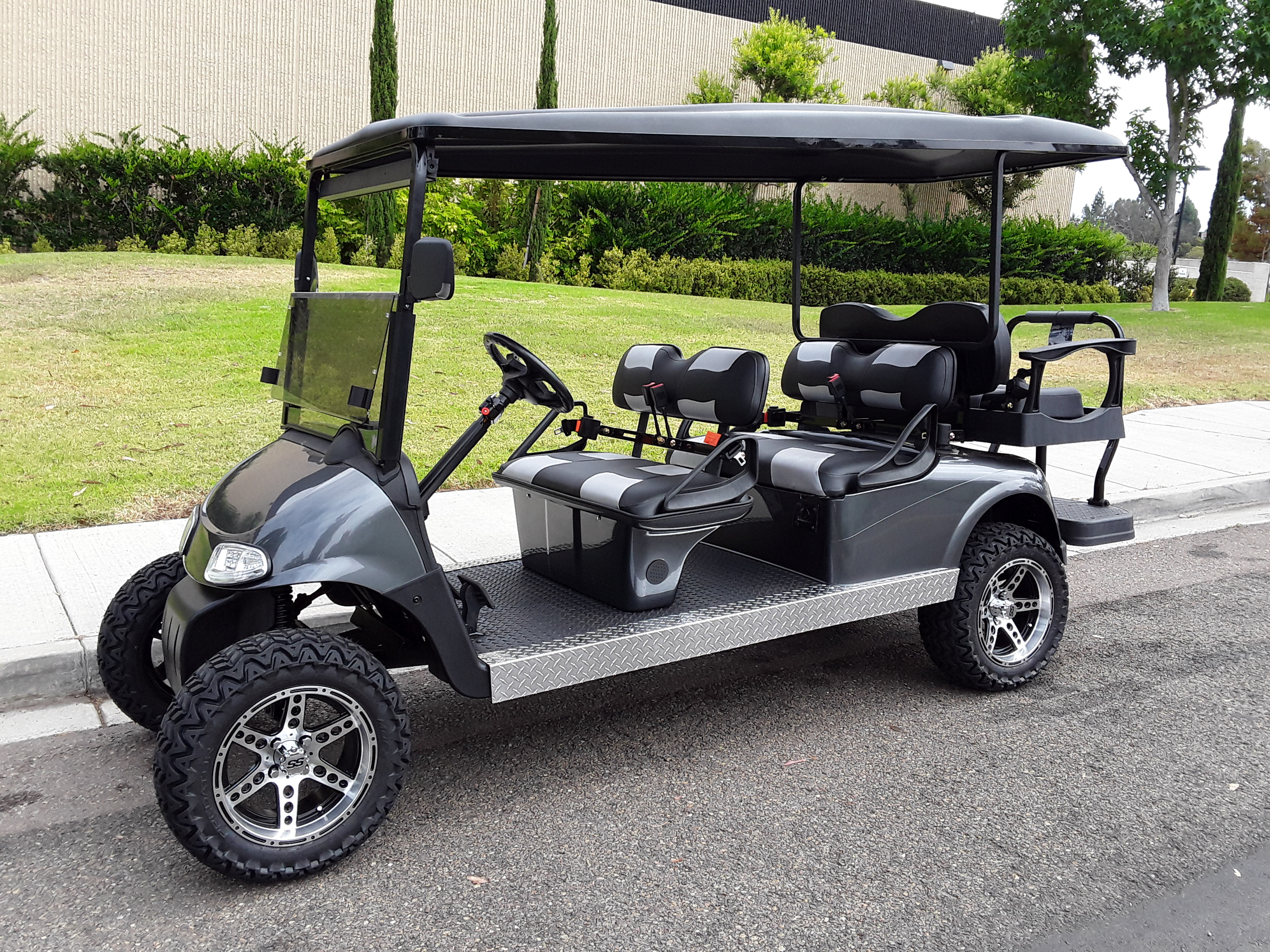 6 Passenger Golf Cart Rxv